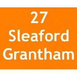 Route 27 to Grantham...