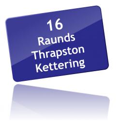 Route 16 via Thrapston
