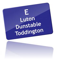 Route E via Dunstable