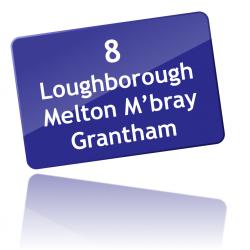 Route 8 via Melton
