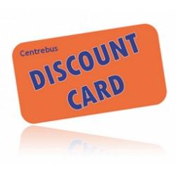 Under 21 Discount Card